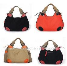 canvas handbag and totes brand new canvas bag canvas ladies handbags 2012