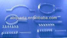 U sharp quartz tube/U bend quartz glass tube/U sharp fused quartz tube