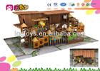 Kid Fitness Indoor Playground Equipment Wooden Playground Indoor For Sale