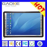 Hot sell projector screen nano-coating surface portable ultrasonic interactive whiteboard