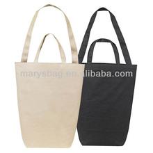 Dual Handle Cotton Shopping Bag