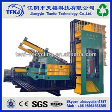 High efficiency YDJ-6300 Scrap car and metal iron steel cutting shear press baler (High Quality)