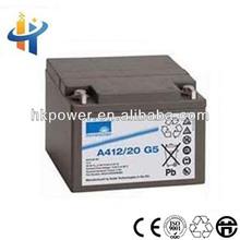 Sonnenschein A412-20AH ups battery for computer,solar gel battery, sealed lead acid battery