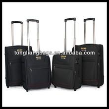 beautiful and classic style luggage bag and case/nylon luggage suitcase