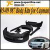 05-09 FRP Car Bodykits,987 Cayman Body Kits for Porsche 987 with Fog Lights