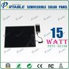 High efficiency multipurpose solar panel sunpower 15W Factory best price 15W (PETC-SE15H)