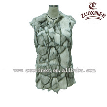 2014 newest fashion beautiful winter women fur vest