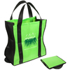 Wave Rider Folding Tote Bag fastens with a snap