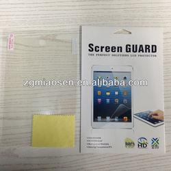 High clear screen protector for ipad mini, anti-scratch