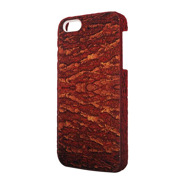 2014 New Tree Skin Grain 3D Tablet Case for Apple iPhone 5G 5S