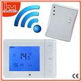 residencial de resfriamento e aquecimento wireless termostato programável e receptor