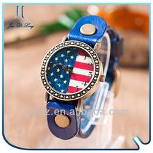 Magnetic bracelet watch women fashion flip watch