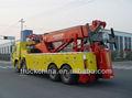 Rotator wrecker 20-30 tonnen schwere rotator abschleppwagen schwere Erholung lastwagen Ladefläche auf dieser seite