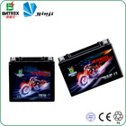 High reliability lead acid motorcycle battery 12v dry cell car battery