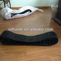 Mini excavadora de orugas de goma, pista de goma de cosechadora de arroz kubota para bobcat