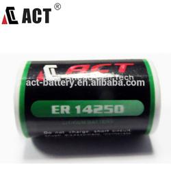 1/2AA 3.6V ER14250 lithium battery Saft LS14250 Tadiran high energy lithium battery TL-4902
