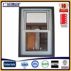 Aluminium Up and Down Vertical Windows ; Aluminium Vertical Sliding / Awning Window