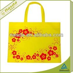 punch handle bag die cut eco handbag