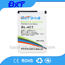 Common Lithium polymer 3.7v Mobile Phone Battery For Nokia Battery BL-4CT 5310xm