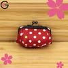 Hong Kong Gift and Premium Fair Red Polka Dot Japan Handmade Coin Purse Messenger Bag Fabric Bag
