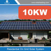 Grid tied solar system, solar kit for home 10kw