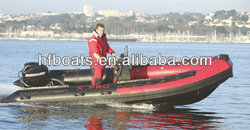 Made in china HSF FRP inflatable boat