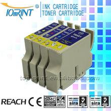 Wholesale T0321-0324 Compatible ink cartridge for Epson inkjet printer