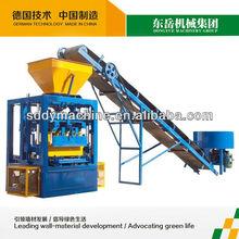QT4-24 small you scheme to gain money block concrete block machine