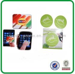 Display cleaner microfiber sticker mobile screen cleaner