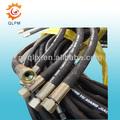 鋼線のスパイラル油圧ゴムホース高圧ホース