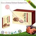 sgs certificado de reishi a base de hierbas de té instantáneo