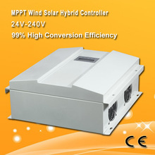 design for 20kW Hybrid wind soalr system charge Controller