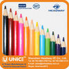 Hexagonal Shaped Color Pencil Set, 12 Color Pencil Set