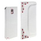 Prestigio , fashion rhinestone leather mobile phone case for samsung