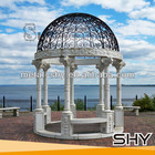 2014 Classic Cast Iron Gazebo,Metal Cast Iron Pavilions for Sale for Garden