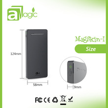 CE FCC ROHS use Polymer lithium battery mobile power 6500mAh