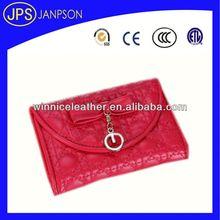 neck wallet badge holder red color personalized travel wallet