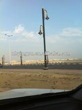 Q235 3.5m-30m street light pole