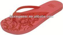 Nuevo estilo de masaje desnuda mujer flip flops para el calzado y la promoción, la luz y comforatable
