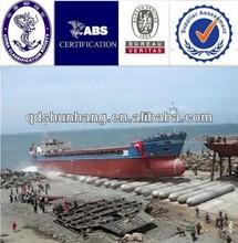 Pneumatic marine ship launching airbag export to Batam shipyard