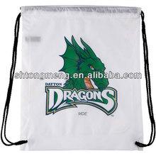 Promotional Reflective Drawstring backpack