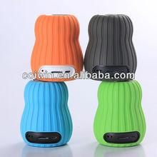 portable pumpkin speaker,multi-colored bluetooth speaker,high quality pumpkin bluetooth speaker enjoy music for home/office/gift