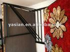 Best-selling metal hanging rod and carpet display racks