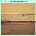 Aço galvanizado inverso farm gate Hebei fornecedor