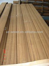 Sliced Cut Africa Teak Wood Veneer
