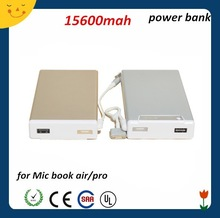 Low price fashionable USB 20000mah mini smart power bank for macbook pro /ipad mini Manual for Power Bank Battery Charger