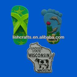 Rubber Souvenir Fridge Magnets, 3D Souvenir Fridge Magnet