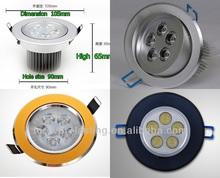 AC 110/220V IP44 Round 3w 5w 7w 9w 12w 15W surface mounted led ceiling light