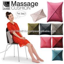 Fashionable cordless Lourdes body massage cushion as massager