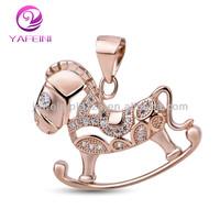 Hot Sale Online Design Of Silver Dumbbell Pendant